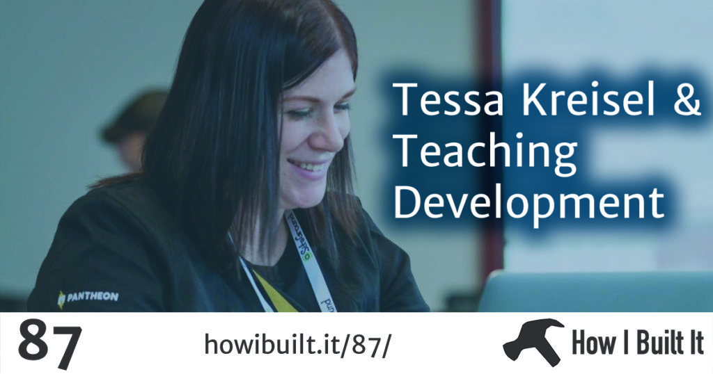Tessa Kreisel and Teaching Development