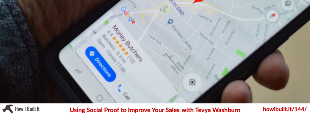 Using Social Proof to Improve Your Sales with Tevya Washburn