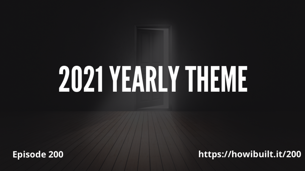 2021 Yearly Theme (Episode 200)