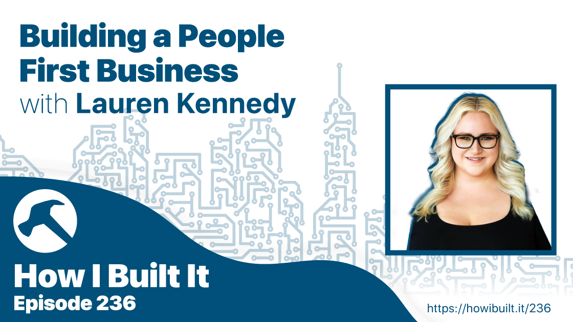 Building a People First Business with Lauren Kennedy
